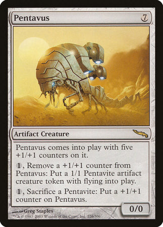 Pentavus [Mirrodin] | The Hall of Heroes