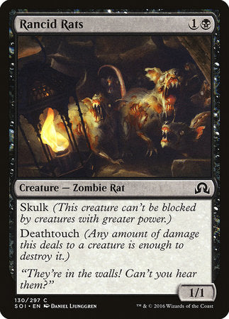 Rancid Rats [Shadows over Innistrad] | The Hall of Heroes