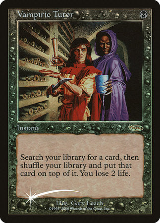 Vampiric Tutor [Judge Gift Cards 2000] | The Hall of Heroes