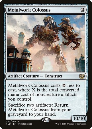 Metalwork Colossus [Kaladesh] | The Hall of Heroes