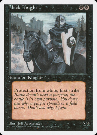 Black Knight [Fourth Edition] | The Hall of Heroes