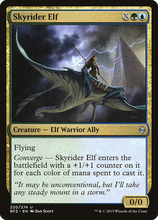 Skyrider Elf [Battle for Zendikar] | The Hall of Heroes