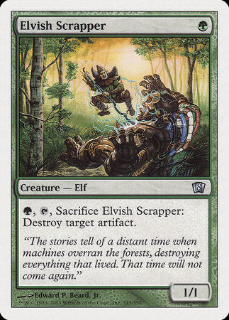 Elvish Scrapper [Eighth Edition] | The Hall of Heroes