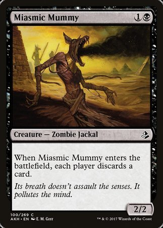 Miasmic Mummy [Amonkhet] | The Hall of Heroes