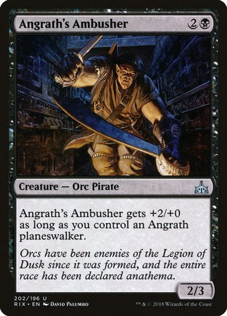 Angrath's Ambusher [Rivals of Ixalan] | The Hall of Heroes