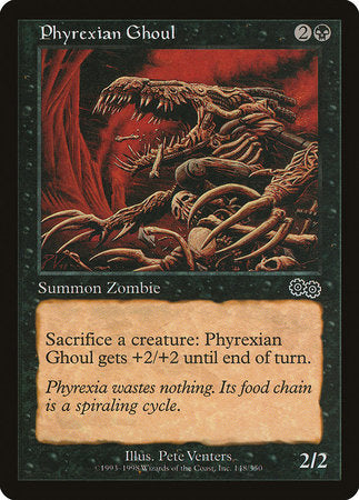 Phyrexian Ghoul [Urza's Saga] | The Hall of Heroes