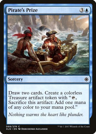Pirate's Prize [Ixalan] | The Hall of Heroes