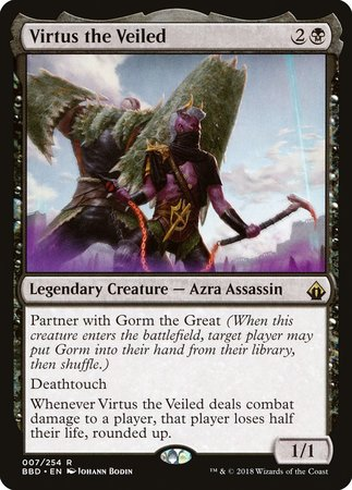 Virtus the Veiled [Battlebond] | The Hall of Heroes
