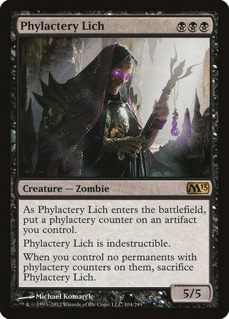 Phylactery Lich [Magic 2013] | The Hall of Heroes