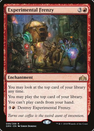 Experimental Frenzy [Guilds of Ravnica] | The Hall of Heroes