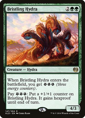 Bristling Hydra [Kaladesh] | The Hall of Heroes