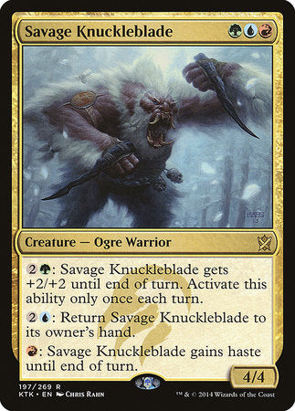 Savage Knuckleblade [Khans of Tarkir] | The Hall of Heroes