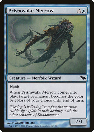 Prismwake Merrow [Shadowmoor] | The Hall of Heroes