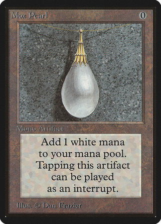 Mox Pearl [Limited Edition Beta] | The Hall of Heroes