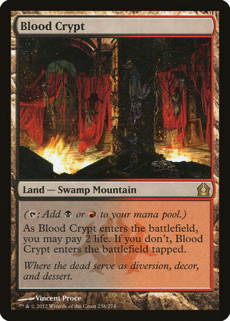 Blood Crypt [Return to Ravnica] | The Hall of Heroes