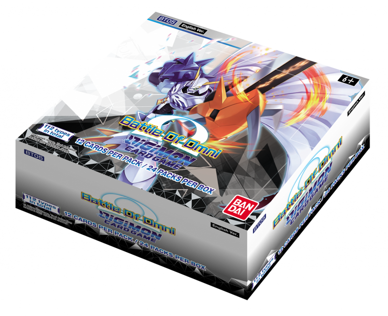 Digimon Card Game Series 05 Battle of Omni Booster Display