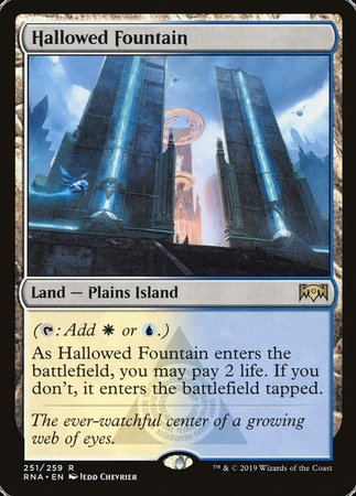 Hallowed Fountain [Ravnica Allegiance] | The Hall of Heroes