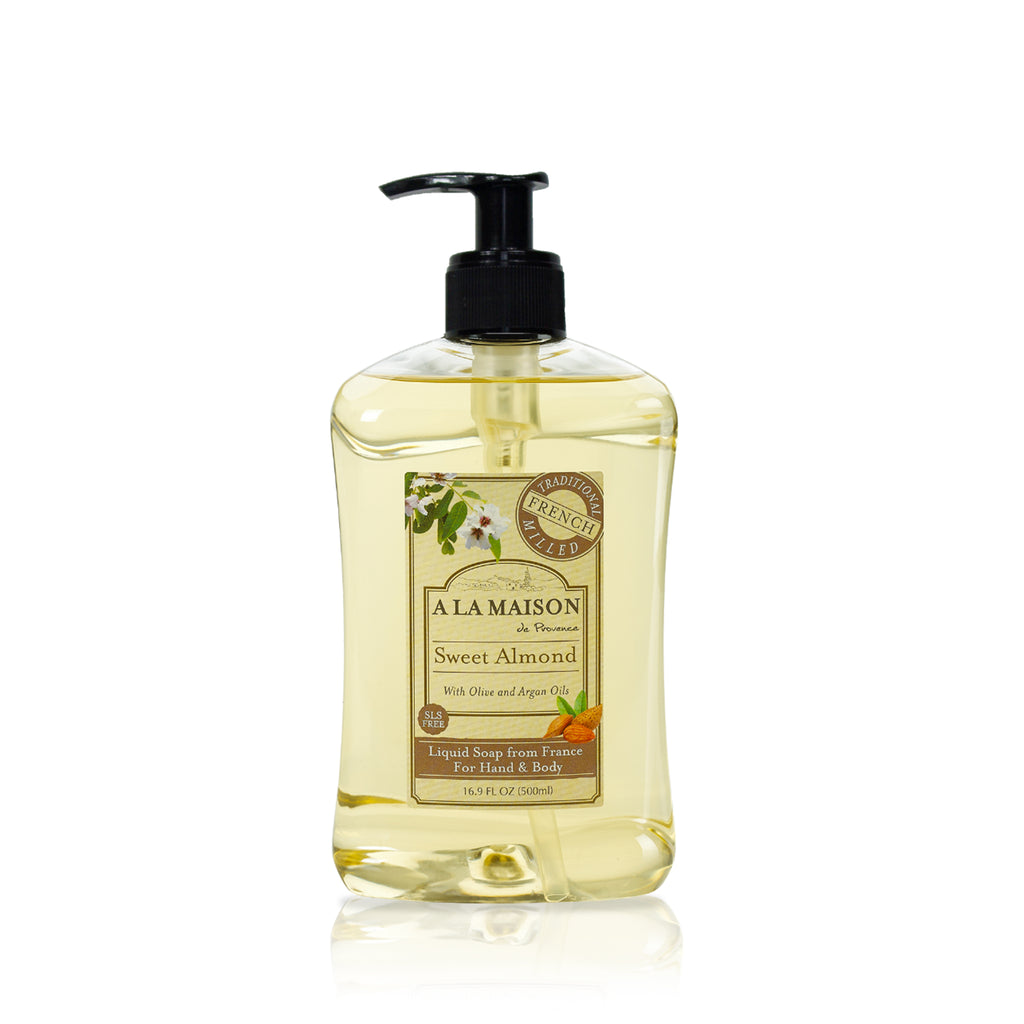 Sweet Almond Liquid Soap 16.9 fl.oz