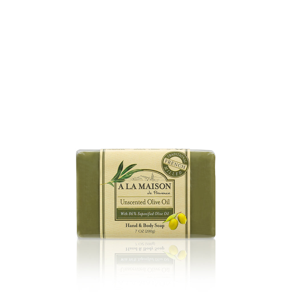 Unscented Olive Oil Bar Soap 7 oz