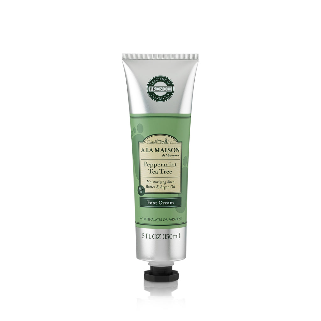 Peppermint Tea Tree Foot Cream 5oz
