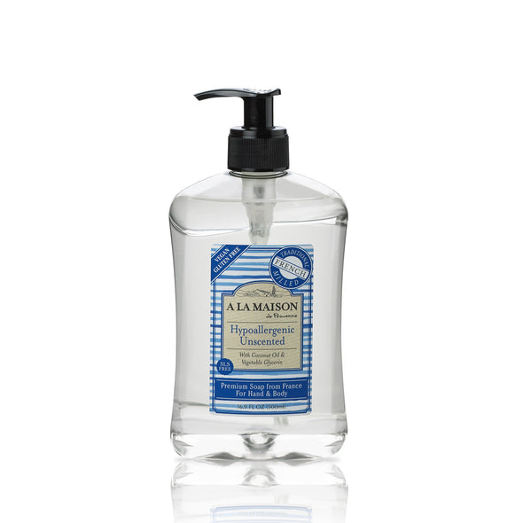 Hypoallergenic Unscented Liquid Soap 16.9 fl.oz