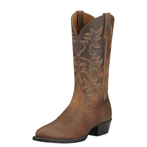 "ARIAT Men's Heritage Western"" R Toe Boot"""