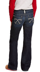 Ariat Girls' R.E.A.L. Franky Bootcut Jeans