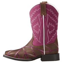 "Load image into Gallery viewer, ARIAT Kids Twisted Tycoon"" Western Boots"""