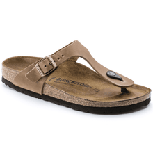 "Load image into Gallery viewer, BIRKENSTOCK ""Gizeh"" BS Tabacco Brown Regular Fit"