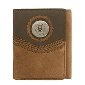 "ARIAT Tri Fold"" Wallet (WLT3101A)"""