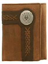 "Load image into Gallery viewer, ARIAT Tri Fold"" Wallet (WLT3102A)"""
