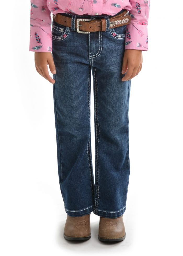 Pure Western Girl's Holly Boot Cut Jean