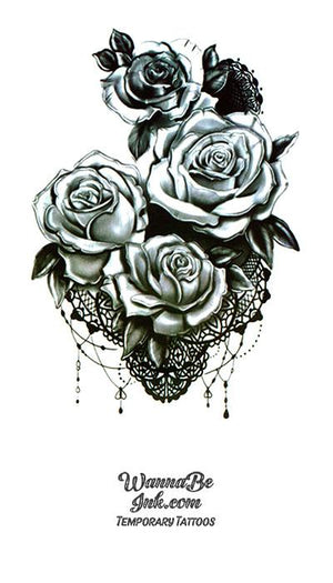 Boquet of Roses Best Temporary Tattoos