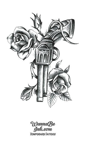 Revolver and Roses Best Temporary Tattoos