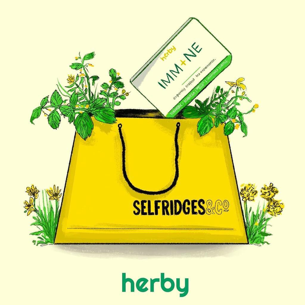 Selfridges has joined the Herbolution 🌿🥳