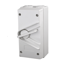 Load image into Gallery viewer, 3 Pole 63A Weatherproof Isolator Switch - Star Sparky Direct