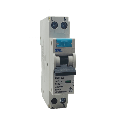 Single Pole RCBO 25A 30mA 4.5KA - Star Sparky Direct