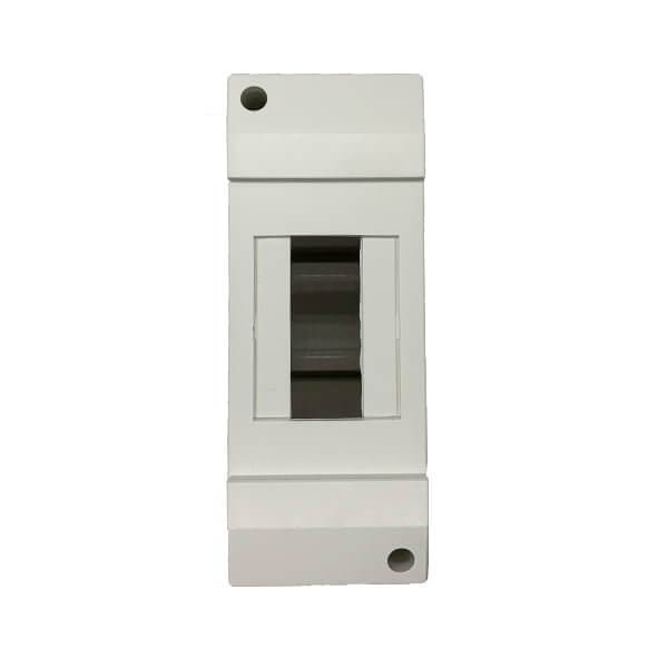 2 Pole Din Rail Surface Mount Enclosure - Star Sparky Direct