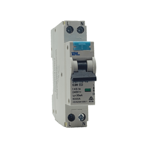 Single Pole RCBO 32A 30mA 4.5KA - Star Sparky Direct
