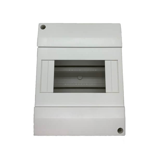 6 Pole Din Rail Surface Mount Enclosure - Star Sparky Direct