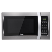 Midea Microwave Stainless Steel 34L 1100W MMW34S - Star Sparky Direct