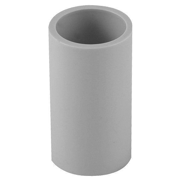 40mm PVC Coupling Plain Grey Conduit Electrical Cable Fitting