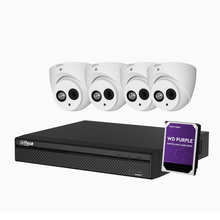 Load image into Gallery viewer, 4 x 4MP Eyeball Kit with 4CH XVR + 1TB HDD - Star Sparky Direct