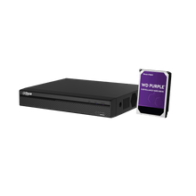 Load image into Gallery viewer, Dahua 8 Channel 1U 4PoE 4K & H.265 Lite Network Video Recorder + 4TB HHD - Star Sparky Direct
