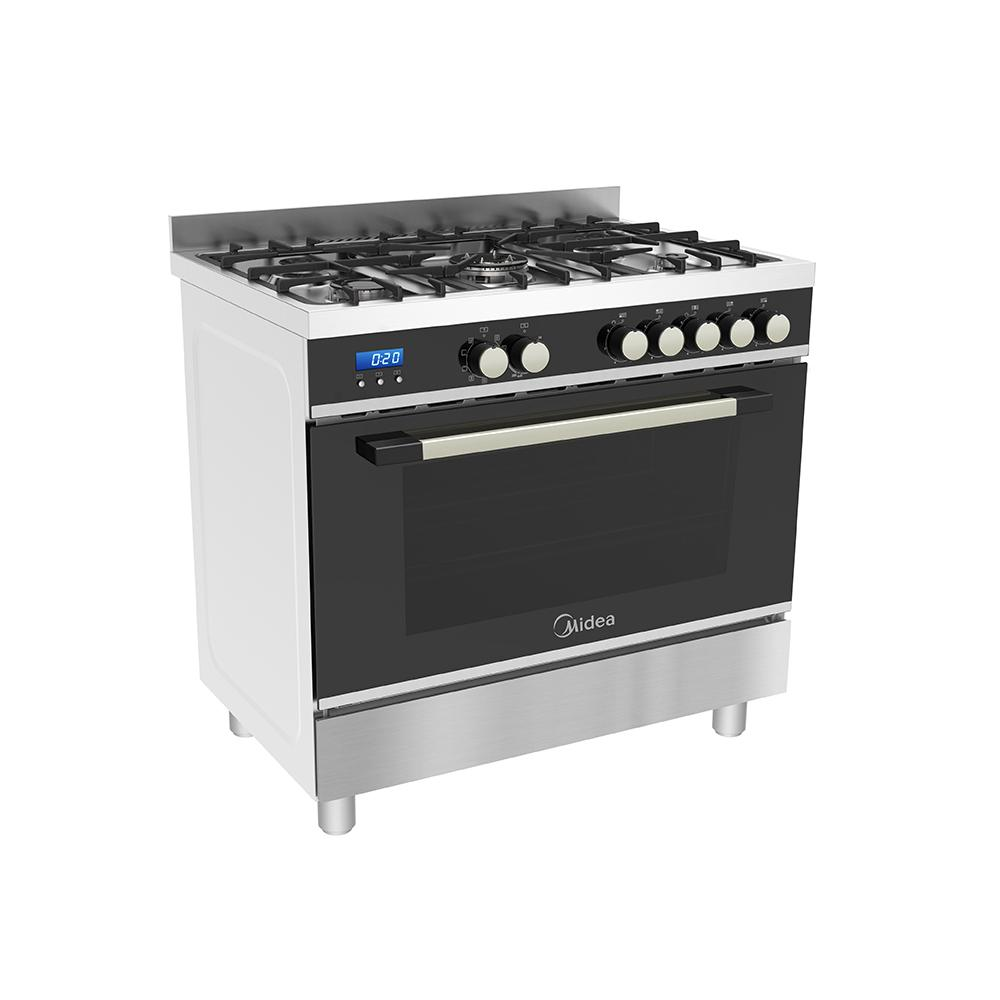 Midea 90CM FREESTANDING COOKER (DUAL FUEL) - Star Sparky Direct