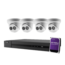Load image into Gallery viewer, Hikvision Hilook 4 x 6MP Turret Kit with 4CH NVR + 2TB HDD - Star Sparky Direct