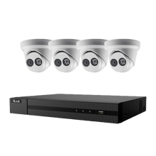 Load image into Gallery viewer, Hikvision Hilook 4 x 6MP Turret Kit with 4CH NVR