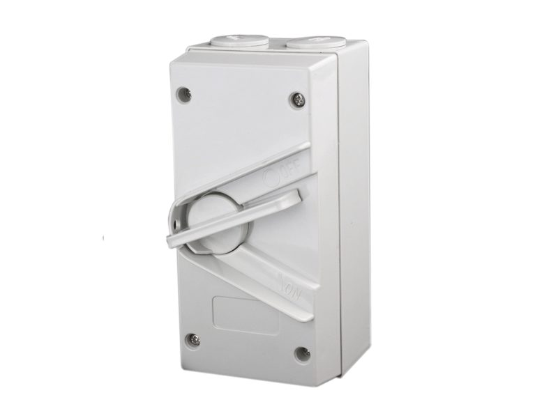 1 Phase 20A Weatherproof Isolator Switch - Star Sparky Direct