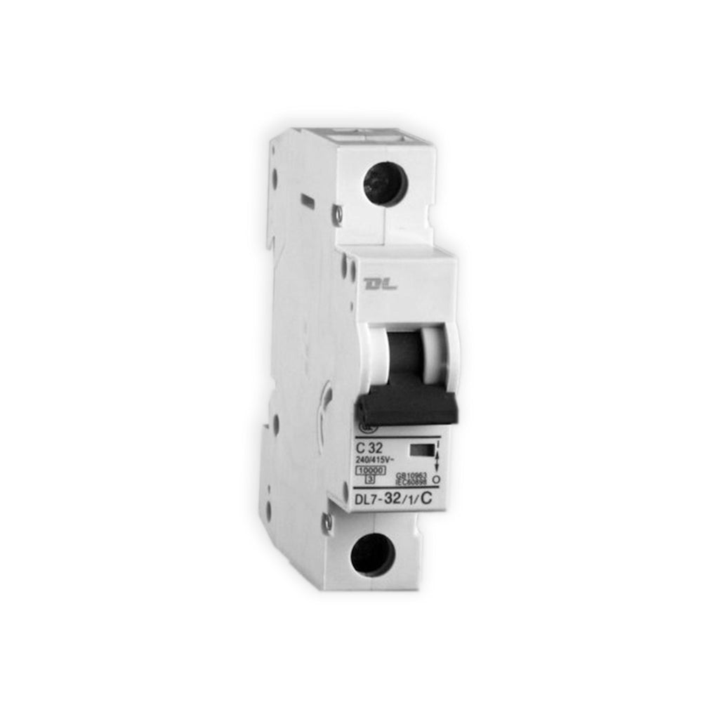 1 Pole 6kA Mini Circuit Breaker MCB 10A - 12 Pcs - Star Sparky Direct