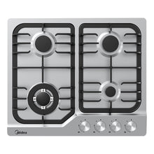 Load image into Gallery viewer, Midea Gas Cooktop Stainless Steel 60cm MCG601SS - Star Sparky Direct